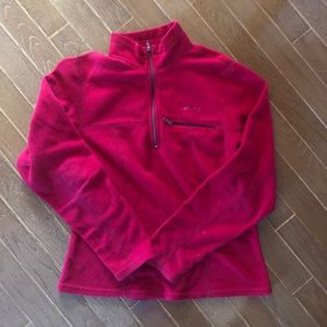 90s MEC Quarter Zip Fleece Sweater